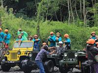 Paket Wisata Rafting Sungai Elo, Jeep Merapi, Pinus Pengger