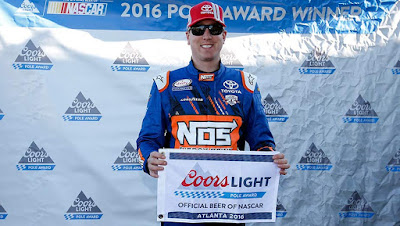 #NASCAR Atlanta Pole Report