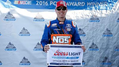 #NASCAR Atlanta Pole Report