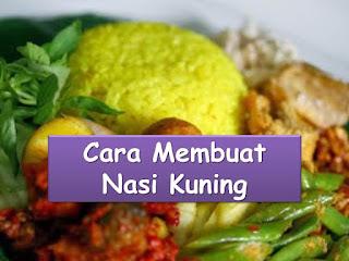 Oleh karena itu ada banyak sekali olahan nasi di indonesia Cara Bikin Nasi Kuning Di Magic Com Yang Enak