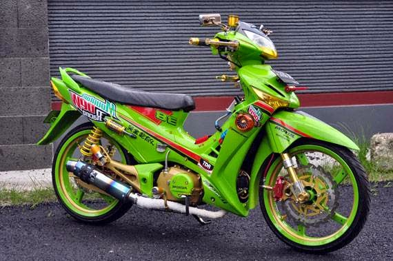 Modifikasi Motor Supra X 125