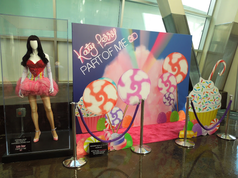 Katy Perry Part of Me movie costume exhibit