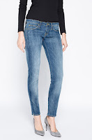 Lee - Jeanși Lynn Skinny Blue Favourite