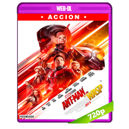Ant-Man and The Wasp. El hombre hormiga y La avispa (2018) WEB-DL 720p Audio Dual Latino-Ingles