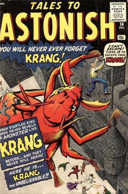 Kirby Tales to Astonish Comics