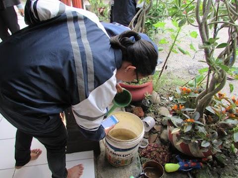 Si Juru Pemantau Jentik Desa Ambowetan Siap Cegah DBD