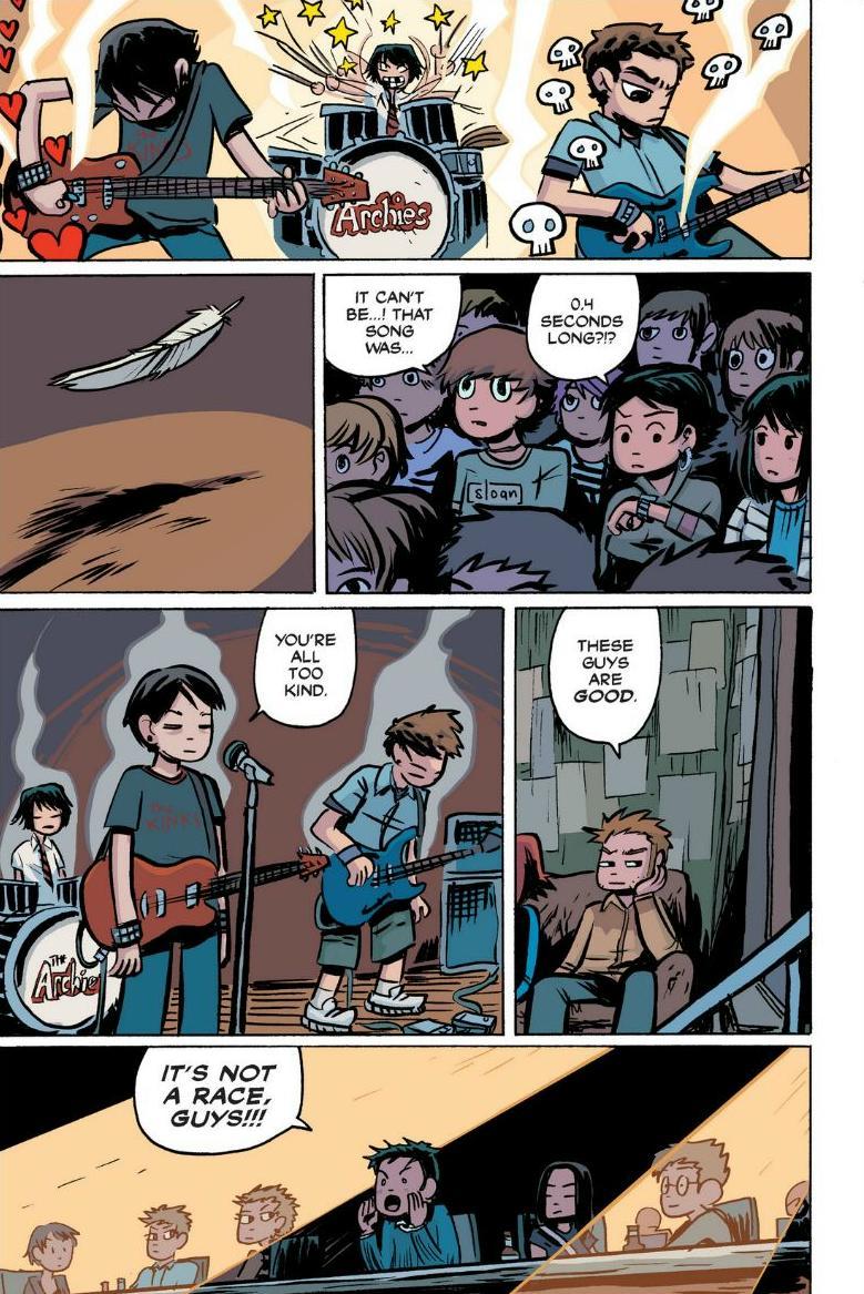 Read online Scott Pilgrim comic -  Issue #1 - 115