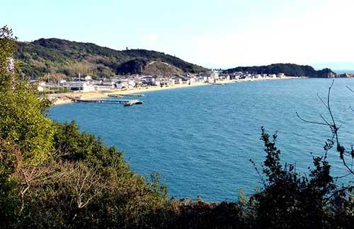 Shodoshima coastline, Shikoku.