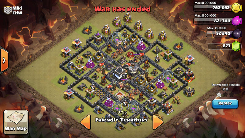 Farming at town hall 9 troops upgrade order coc 171 mgyans