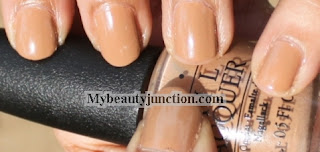OPI San Tan Tonio Nail Polish swatch review