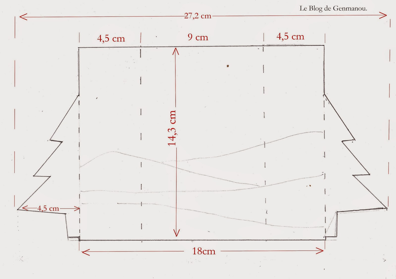 le blog de genmanou tuto carte sapin ouvrant. Black Bedroom Furniture Sets. Home Design Ideas
