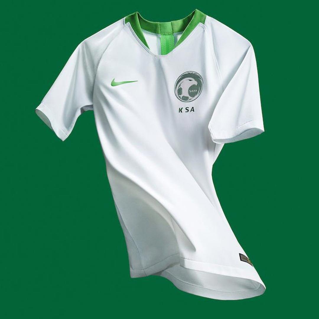 Nike, la prima maglia dell'Arabia Saudita | numerosette.eu