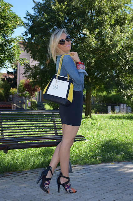 outfit luglio 2016 outfit estivi blogger style outfit estivi blogger mariafelicia magno fashion blogger colorblock by felym web influencer summer outfits july outfits
