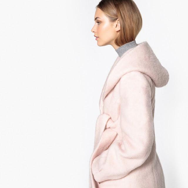 cappotto rosa in saldo