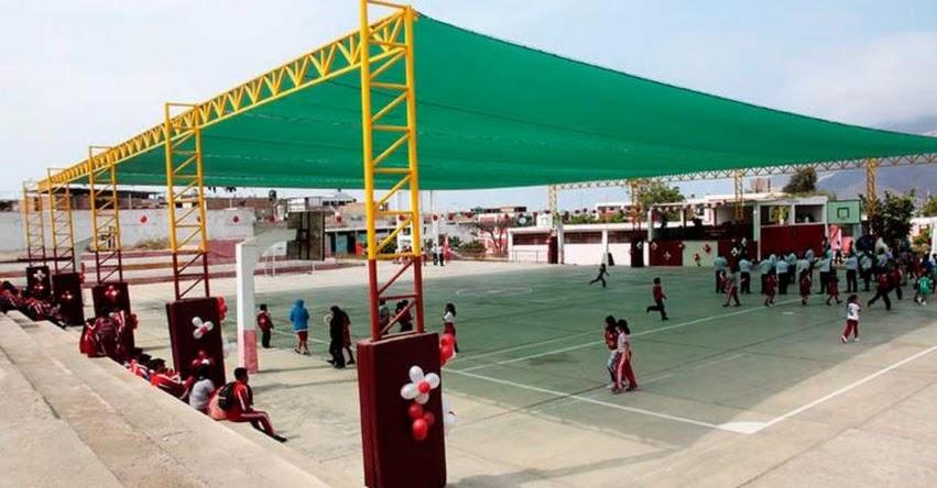 Instalarán 20 mallas de protección solar en colegios de Chimbote - Áncash