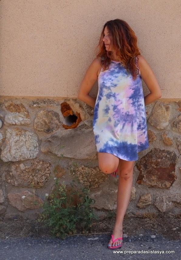 Vestido colorines verano