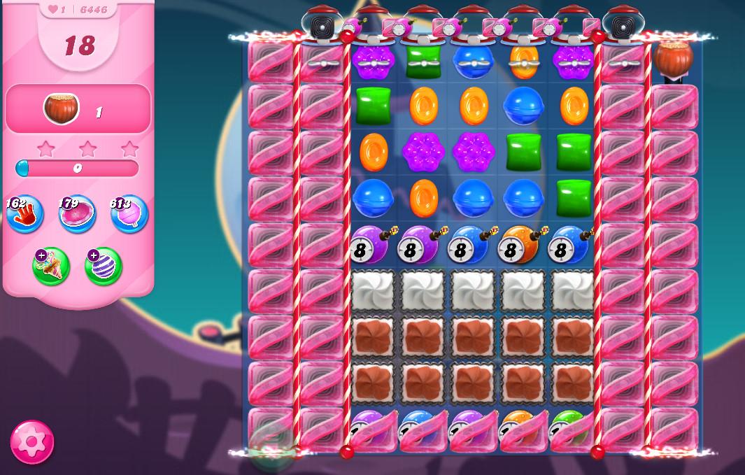 Candy Crush Saga level 6446