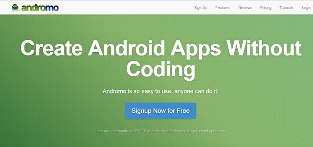 أفضل 4 مواقع ستساعدك في إنشاء تطبيقات أندرويد android مجانا
