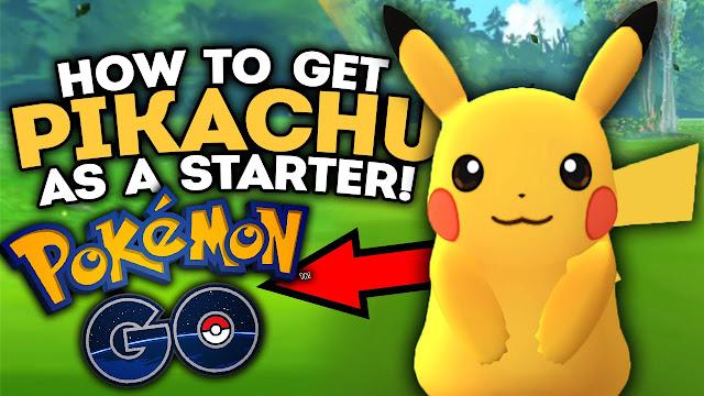 طريقة الحصول على بيكاتشو في لعبة Pokemon GO بسهولة