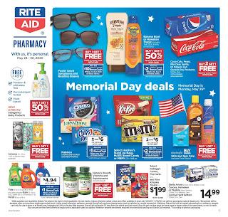 ⭐ Rite Aid Ad 5/24/20 ⭐ Rite Aid Weekly Ad May 24 2020