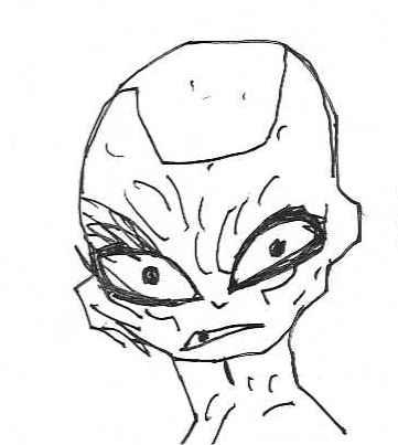 Disaster Year: 20XX: Sketch Wednesday: Frieza