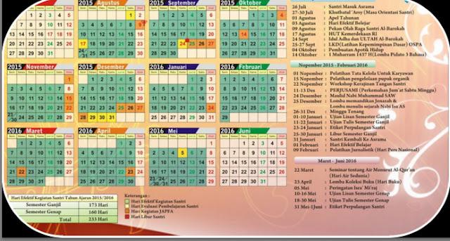 Download File Aplikasi Kalender Pendidikan Untuk Semua Provinsi Tahun Pelajaran 2016/2017 Gratis