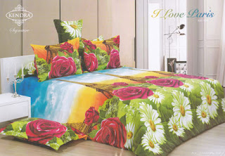 Sprei Kendra Signature Love Paris