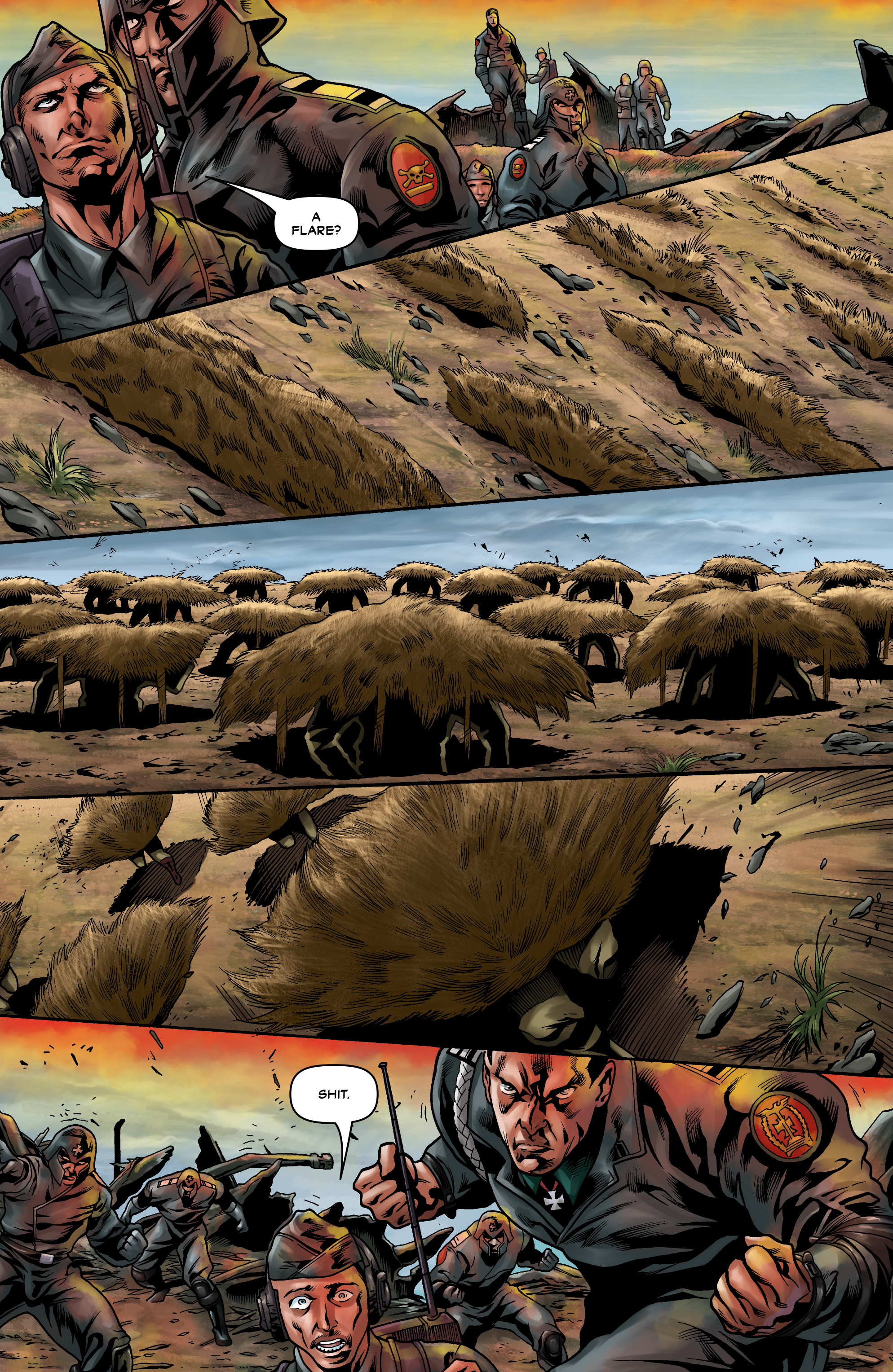 Read online Uber comic -  Issue #9 - 12