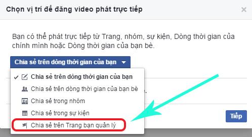 hướng dẫn chi tiết cách phát video trực tiếp lên facebook