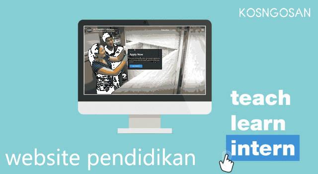 Website Pendidikan Untuk Perguruan Tinggi dan Sekolah