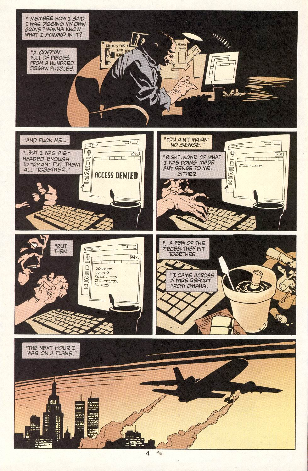 Read online 100 Bullets comic -  Issue #14 - 6