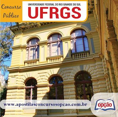 Apostila da UFRGS - Todos os Cargos Nível de Classificação C - D - E