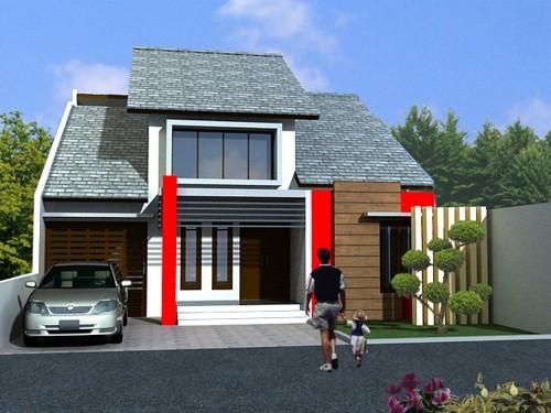 model rumah kecil minimalis 4