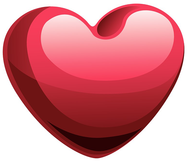Shiny Heart Emoticon