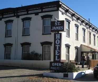 Southwestern Ghosts And Hauntings St James Hotel Cimarron New