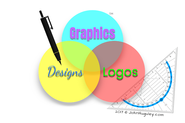 "Seattle 3D Graphic Design, Logos, Banners and Post Cards, Printing - ""John Huguley"""