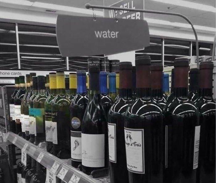 wrong label on bottles