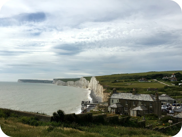 Birling Gap cliffs, East Sussex