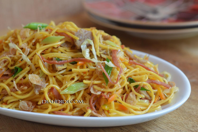 Resep Cake Pisang Diah Didi: Diah Didi's Kitchen: Mie Goreng Ceria