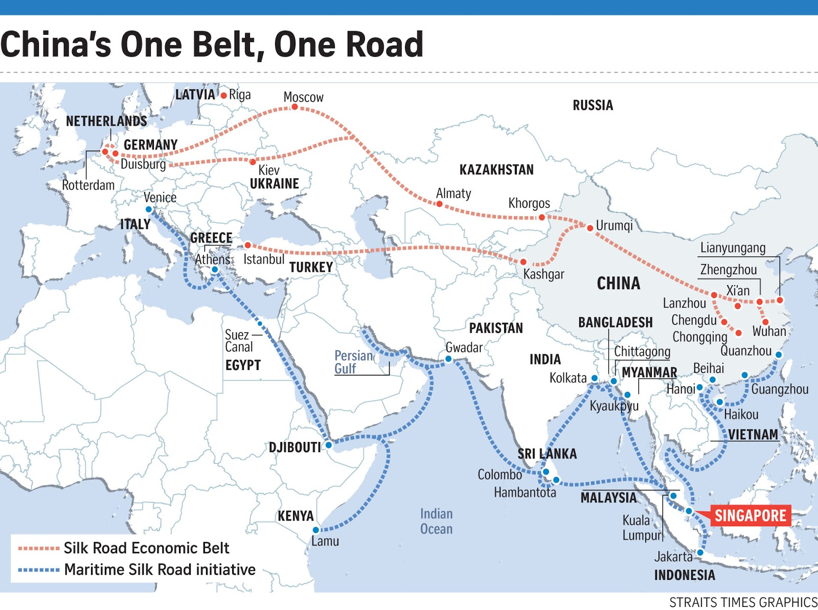 Bildergebnis für on belt one road