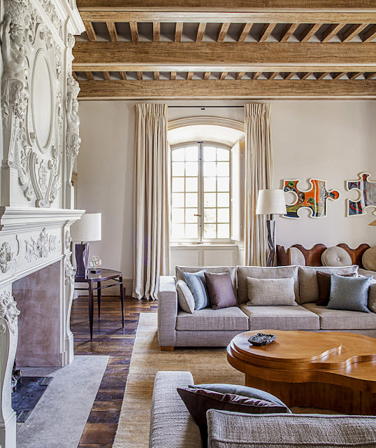 Pierre Yovanovitch Chateau in Provence Living room Belle Vivir Blog