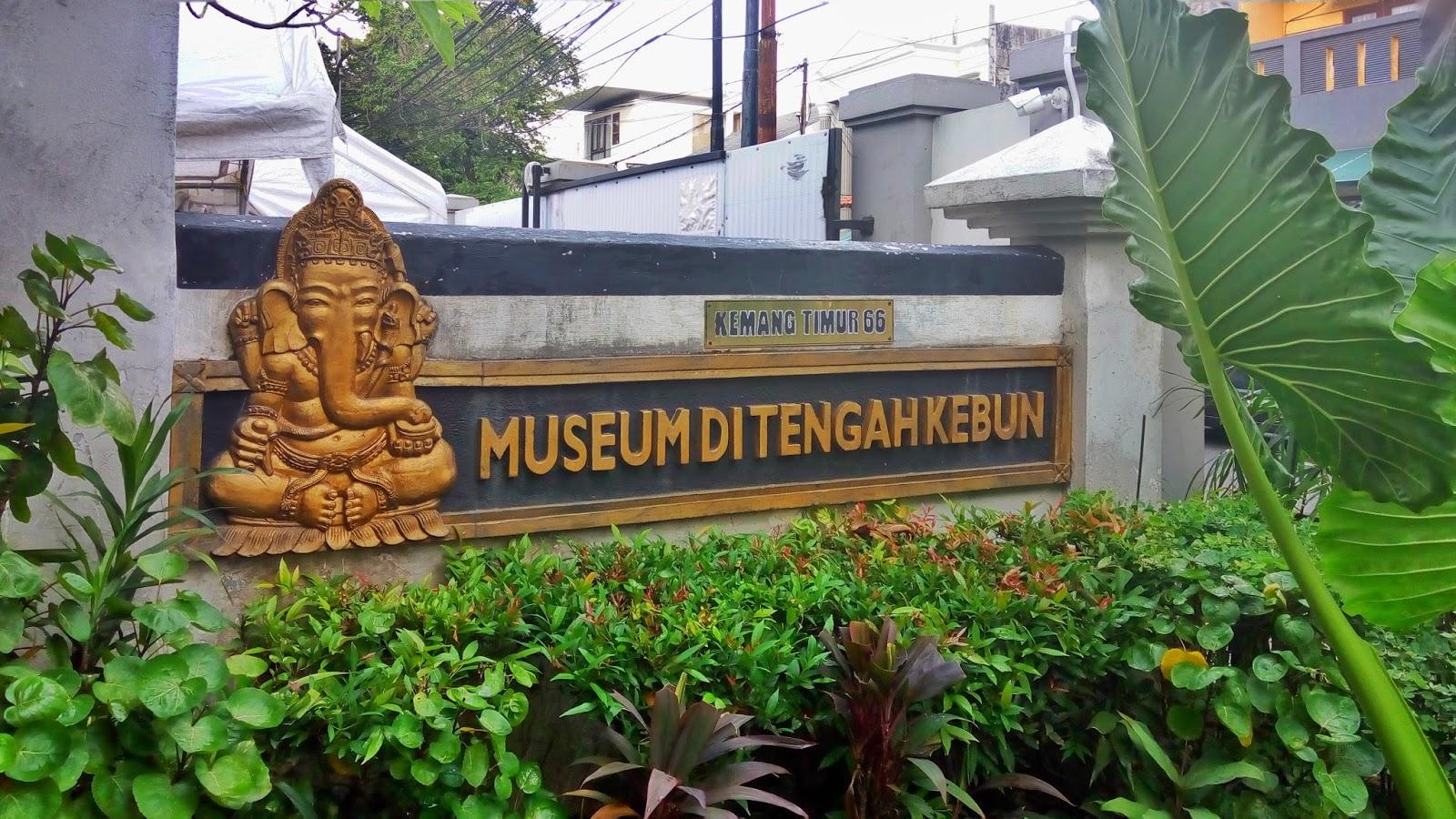 Image result for museum di tengah kebun
