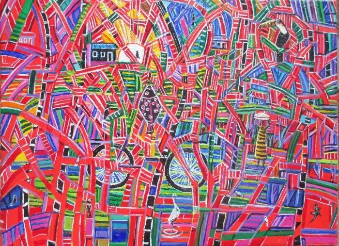 Бразильский художник. Nelson Magalhaes