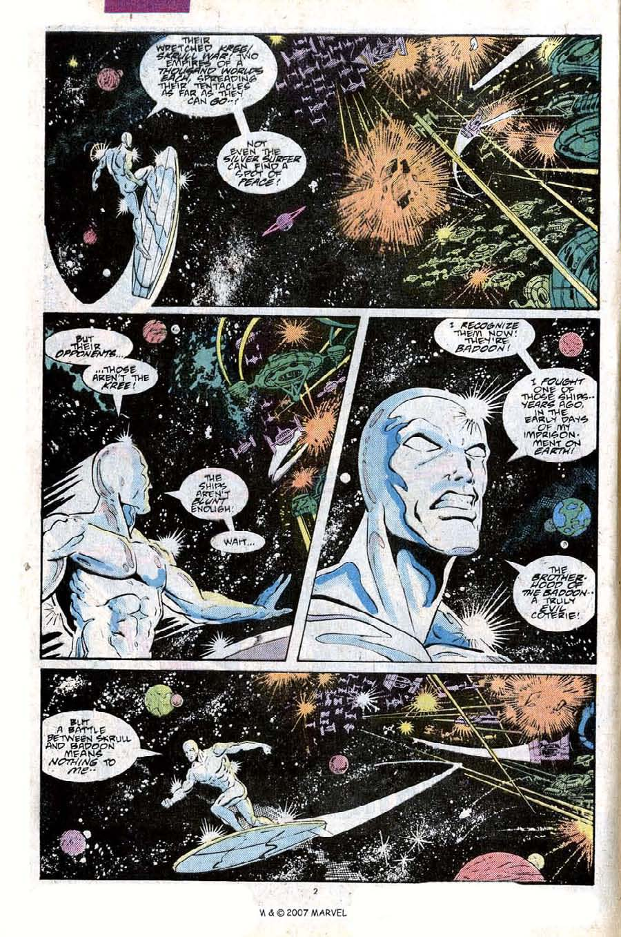 Read online Silver Surfer (1987) comic -  Issue #25 - 4