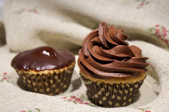 ganache y frosting de chocolate