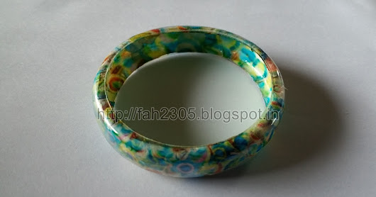 Recycle Plastic Bangle