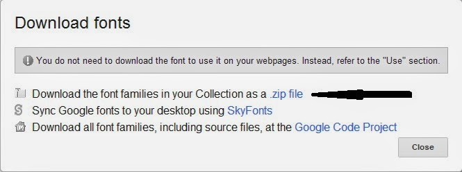 How to Install Google Fonts in Windows PC