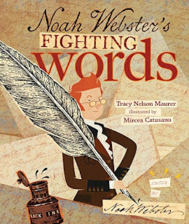 Noah Webster's Fighting Words is a fun mix of interesting history and facts coupled with a fictionalized ghost of Webster who inserts his opinion by occasionally editing or rewriting sections of the text.