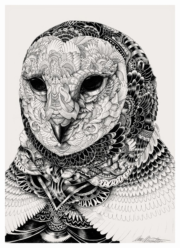 18-Iain-Macarthur-Precision-in-Surreal-Wildlife-Animals-Drawings-www-designstack-co