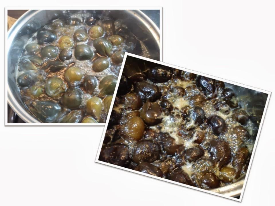 El laboratorio del chefgonin como hacer dulce de higos - Como se hace el almibar ...